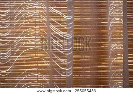 Closed Bamboo Blinds