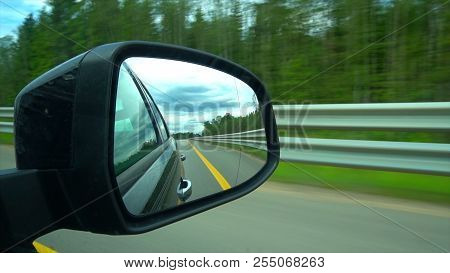 View Driving On Highway In Russia 4 K