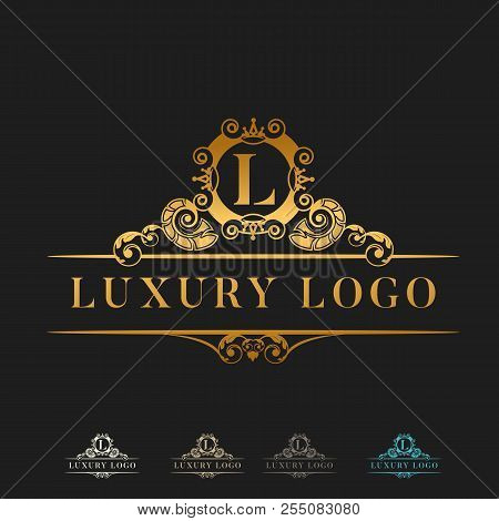 Luxury Logo, Classic And Elegant Designs For Industry And Business, Brand Logo, Jewelry Logo, Interi