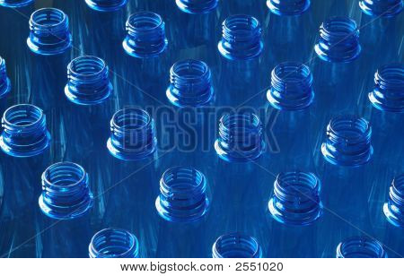 Water Bottles In Factory
