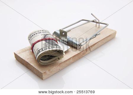 Mouse Trap Dollar Bill