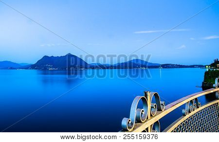Lake Maggiore Is A Large Lake Located On The South Side Of The Alps. It Is The Second Largest Lake I