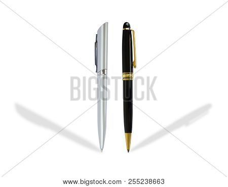 Pen Isolated On White Background. Object Isolated.