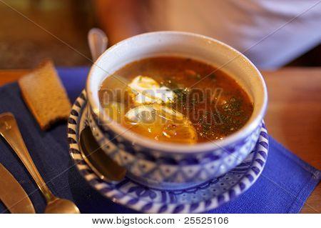 Saltwort Fish Soup