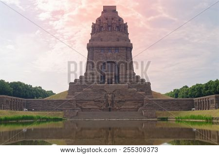 The Monument To The Battle Of The Nations Is A Monument In Leipzig, Germany, To The 1813 Battle Of L