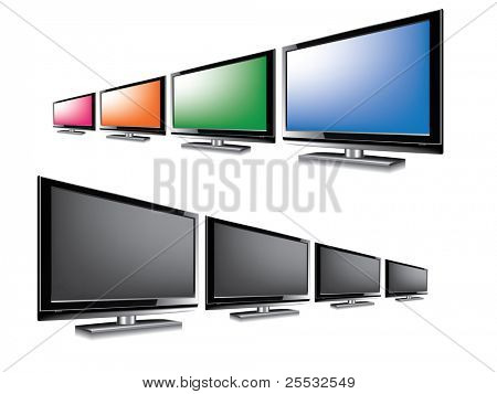 LCD monitor blank