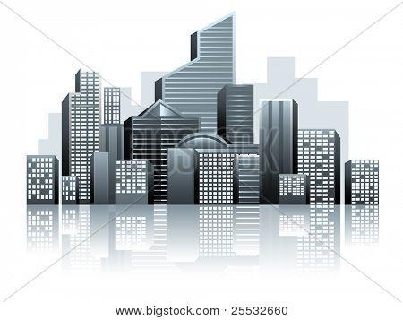 Вектор городской города