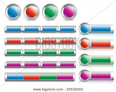 Website design buttons