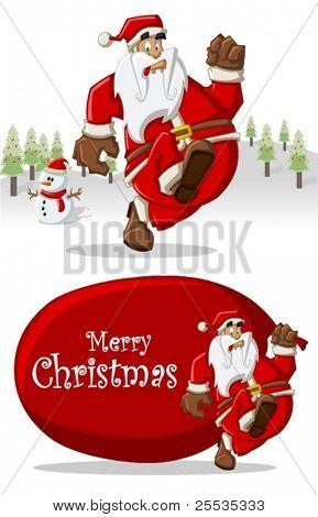 auf Weihnachten Weihnachtsmann