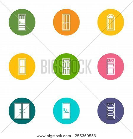 Wicket Icons Set. Flat Set Of 9 Wicket Vector Icons For Web Isolated On White Background