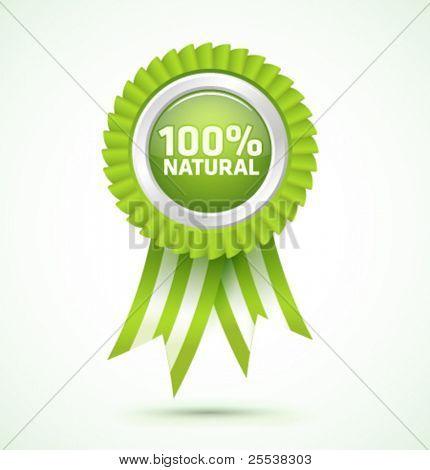 Vector 100% natural award
