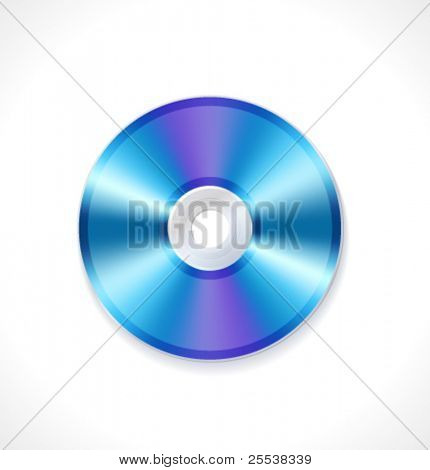 Vector blue ray disc
