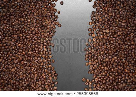 Coffee Bean Background Arabica Coffee Roasted Coffee Bean Background Arabica Coffee Roasted