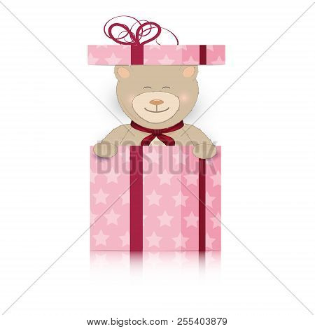 Teddy Bear Pink Gifts Vector Photo Free Trial Bigstock