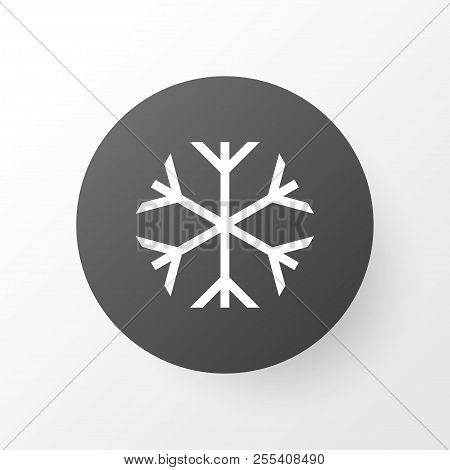 Risk Icon Symbol. Premium Quality Isolated Frosty Element In Trendy Style.