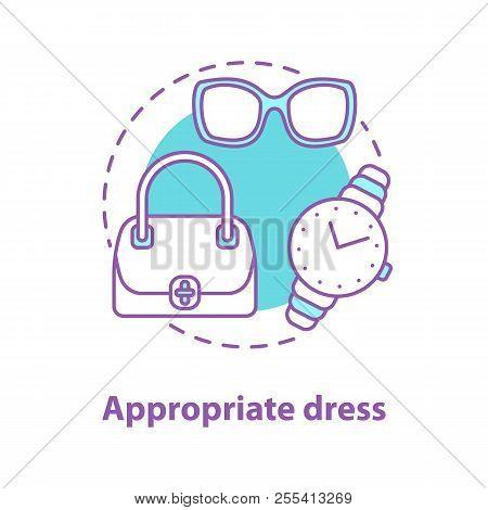 Appropriate Dress Concept Icon