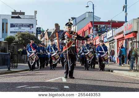 Portrush / Northern Ireland - 13/07/15 Bands Playing In Portstewart Town