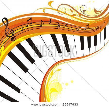autumn music,rich background