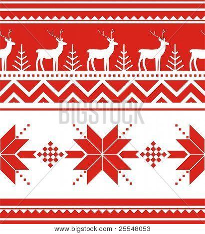 norway christmas seamless