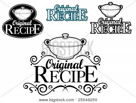 Original Recipe Seal / Mark