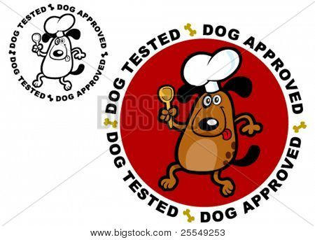 Dog Tested / Approved Certify Seal