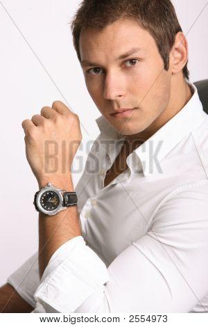 Businessman With Watch
