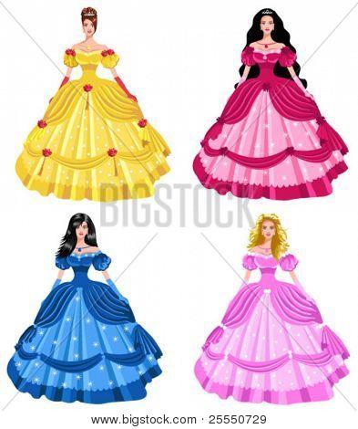 fairy tale princesses