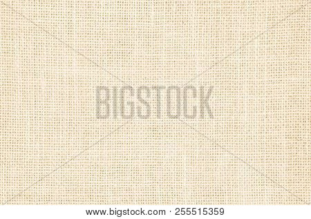 Pastel Abstract Hessian Or Sackcloth Fabric Texture Background. Wallpaper Of Artistic Wale Linen Can
