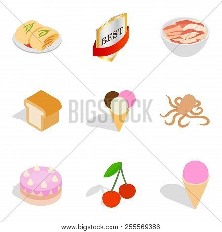 Vitamin Insufficiency Icons Set. Isometric Set Of 9 Vitamin Insufficiency Icons For Web Isolated On