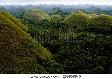 Mysterious Chocolate Hills - Bohol - Philippines