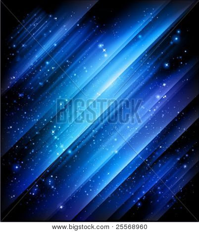 abstract blue background - great for christmas web designs