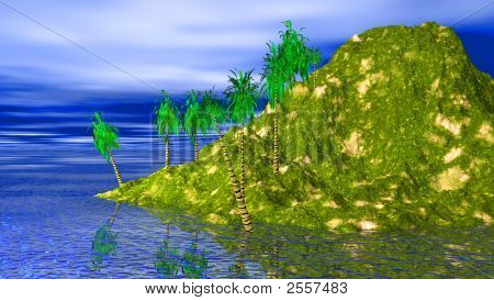 Island High End Back Single Lone Island