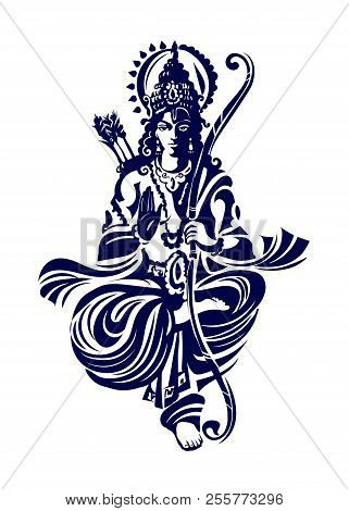 Rama Or Ram - Also Known As Ramachandra, Is A Major Deity Of Hinduism. He Is The Seventh Avatar Of T