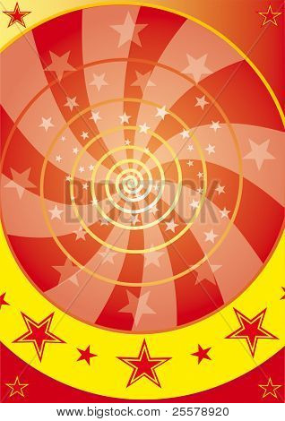 Magic wheel. An abstract background for you