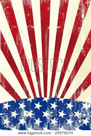 US-amerikanischer Änderungsflag einer amerikanischen Änderungsflag für einen Hintergrund