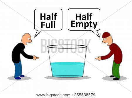 Half empty or half full
