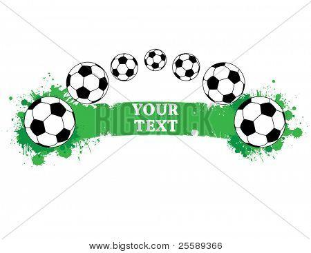 Raster Football banner