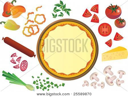 Pizza components