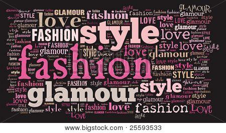 Tagcloud: fashion
