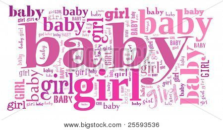 Tagcloud: baby girl