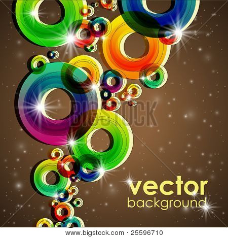 Colorful Shiny Background