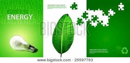 green energy visual concept (see also other related images in my portfolio)