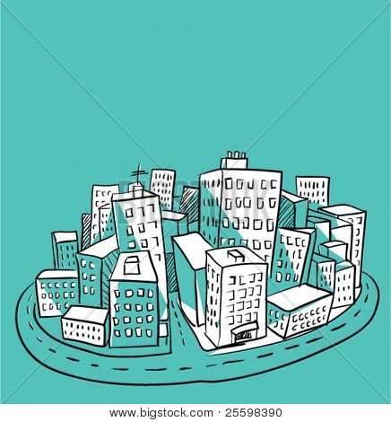 city illustration 2