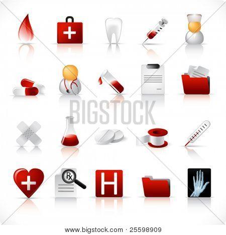 medical icon set 1