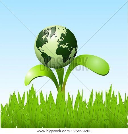 Planet on a sapling