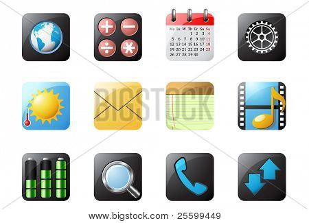 Mobile phone buttons 1