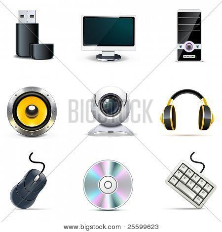 Computer icons   Bella series