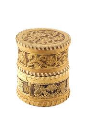 Russian Souvenir. Jewellery Box Bark Of A Tree