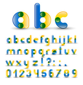 Full Alphabet With Numbers