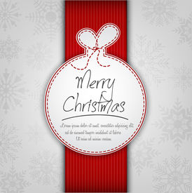 Decorative Christmas Ball Background
